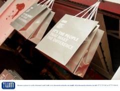 BPE goody bags at Swarez Modern Art